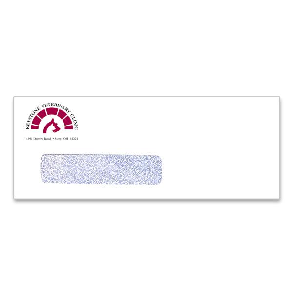 10 window envelope 2 color imprint for 10 window envelope