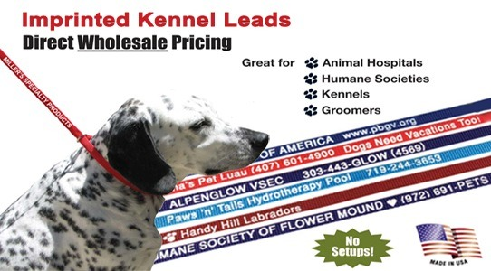 Home Of The Imprinted Kennel Leads!