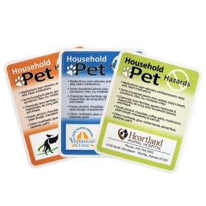 Households Pet Hazards Decal