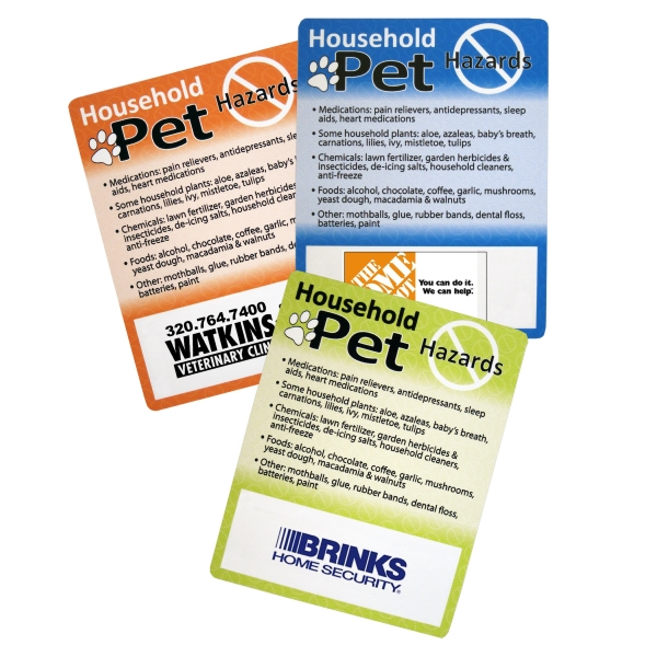 Households Pet Hazards Magnet