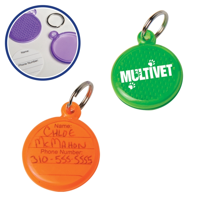 Round Reflective Tags