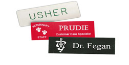 Laser Engraved Name Tags