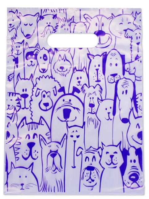 Dog and Cat Seamless (Violet) MSP1005