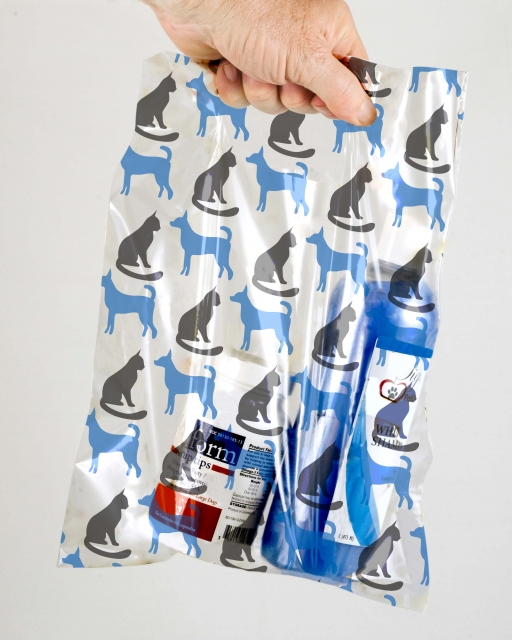 Dog and Cat (Blue & Grey) MSP1004