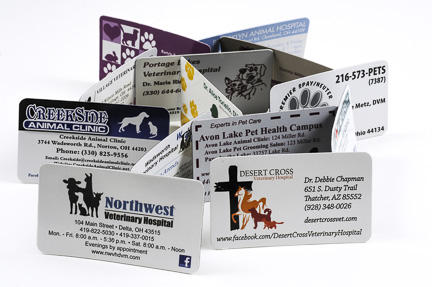 Business Card Magnets - Economy 20mil