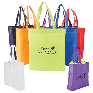 Non-woven Value Tote with Gusset Bottom